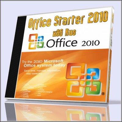 Microsoft Office Starter v.14.0 (2010/Rus)